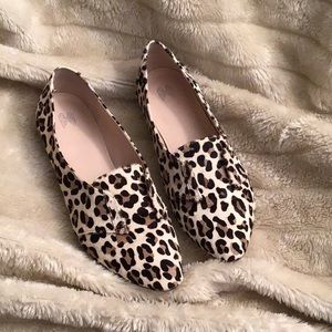 Victoria's Secret Animal Hair Flats